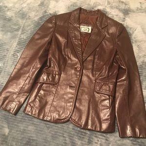 Jackets & Blazers - Vintage brown blazer for a delicate frame.